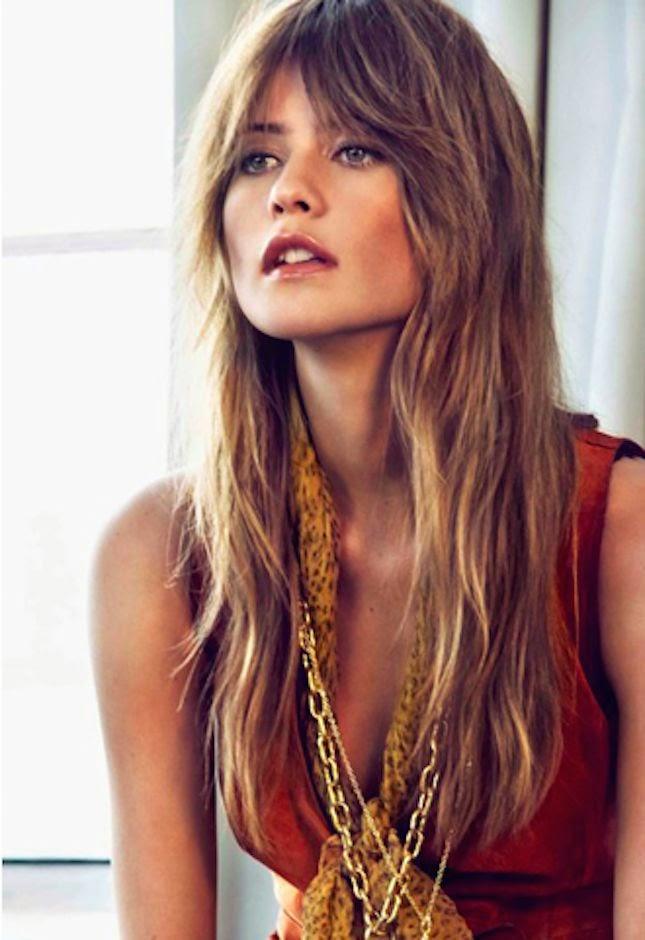 Saggy ou Shag - Corte de cabelo comprido - tendência 2015