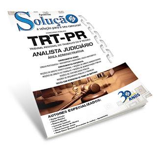 Apostila TRT-PR - Analista Judiciário.