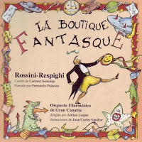Santonja, Carmen - La boutique fantasque. cuento de Carmen Santonja; ilustraciones J.C. Eguillor. Vitoria-Gasteiz: AgrupArte, D.L. 2001.