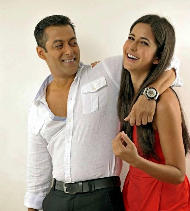 Salman Khan-Katrina Kaif Sexy Images
