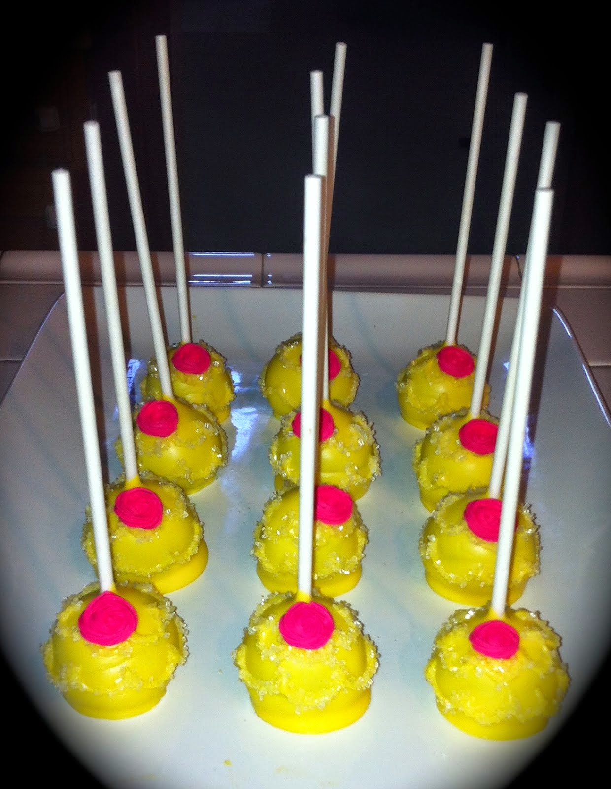 BELLE DRESS CAKE POPS