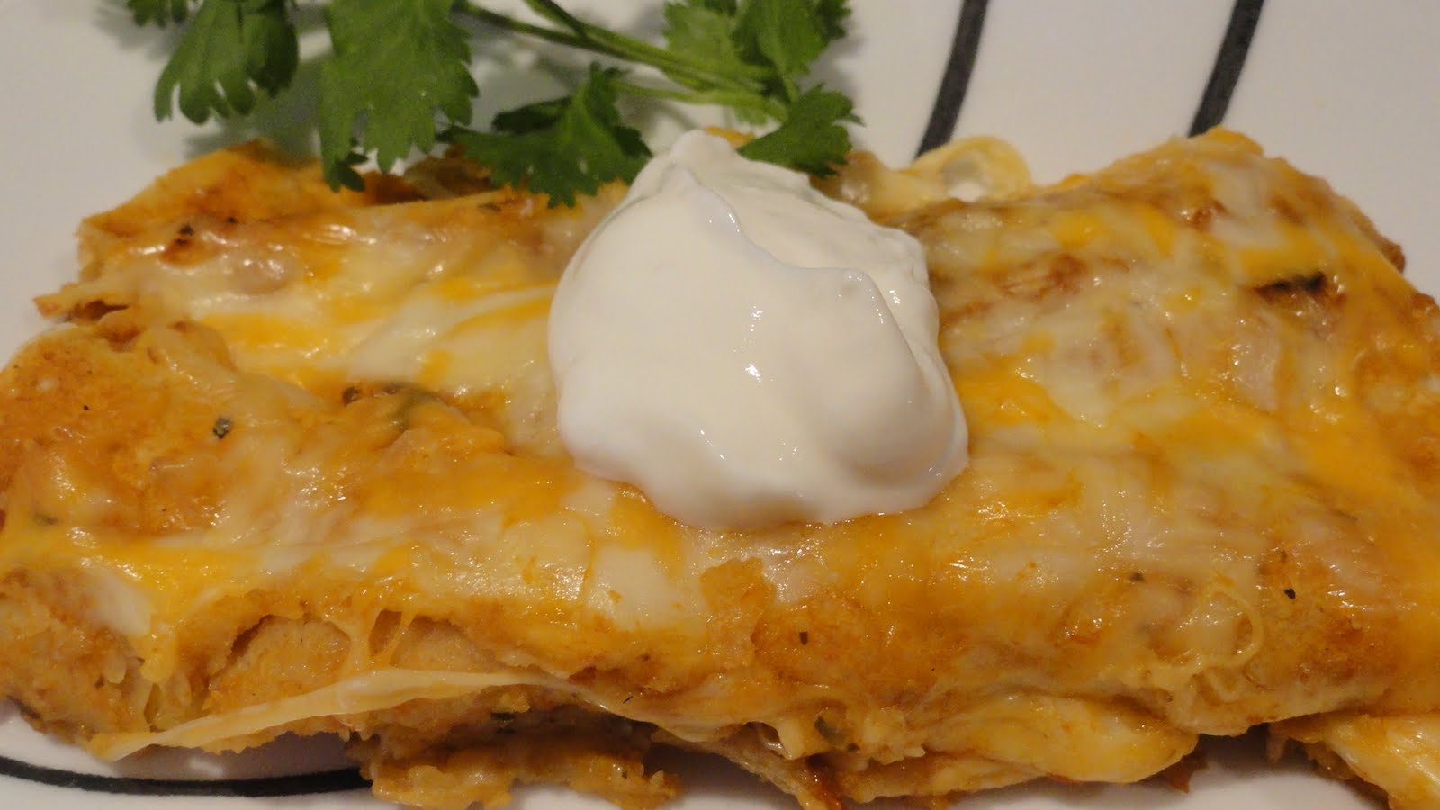 Cheese Enchiladas: