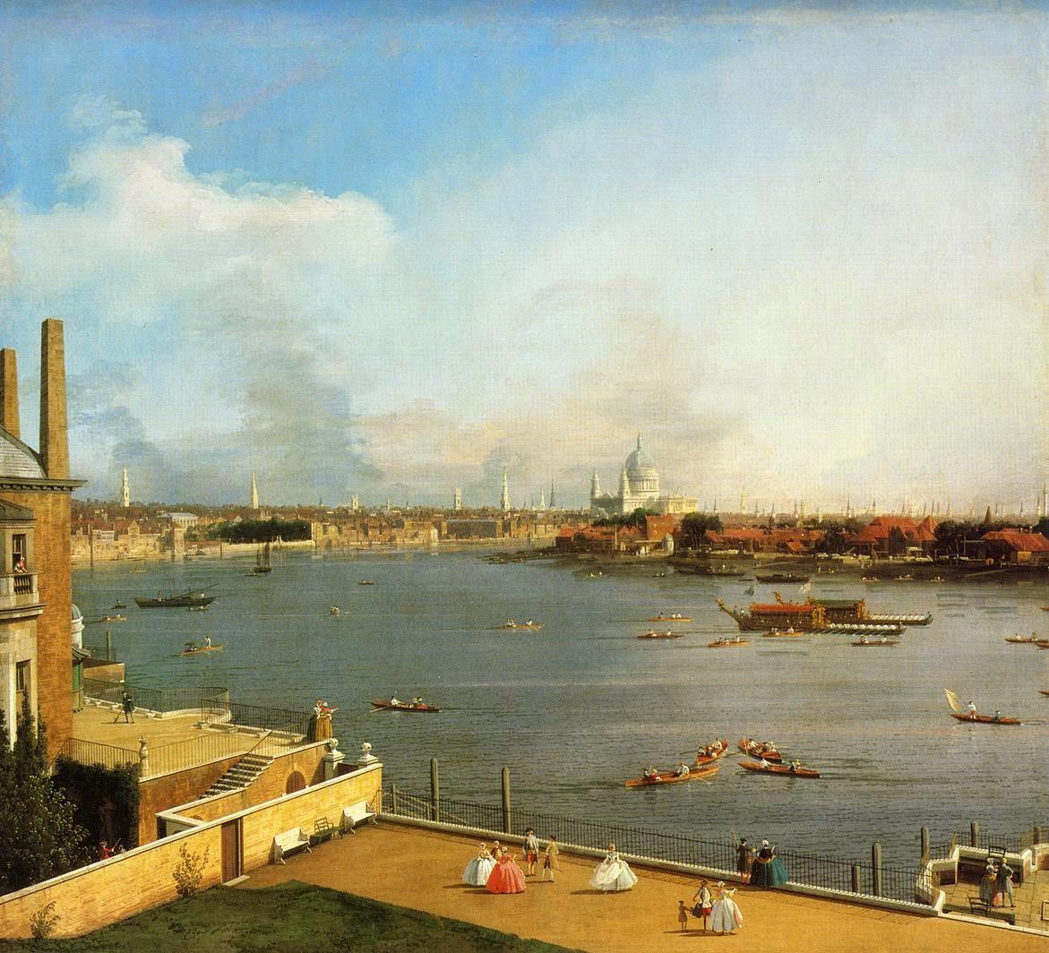 ART Amp ARTISTS River Thames Paintings 1650 1995 Part 1