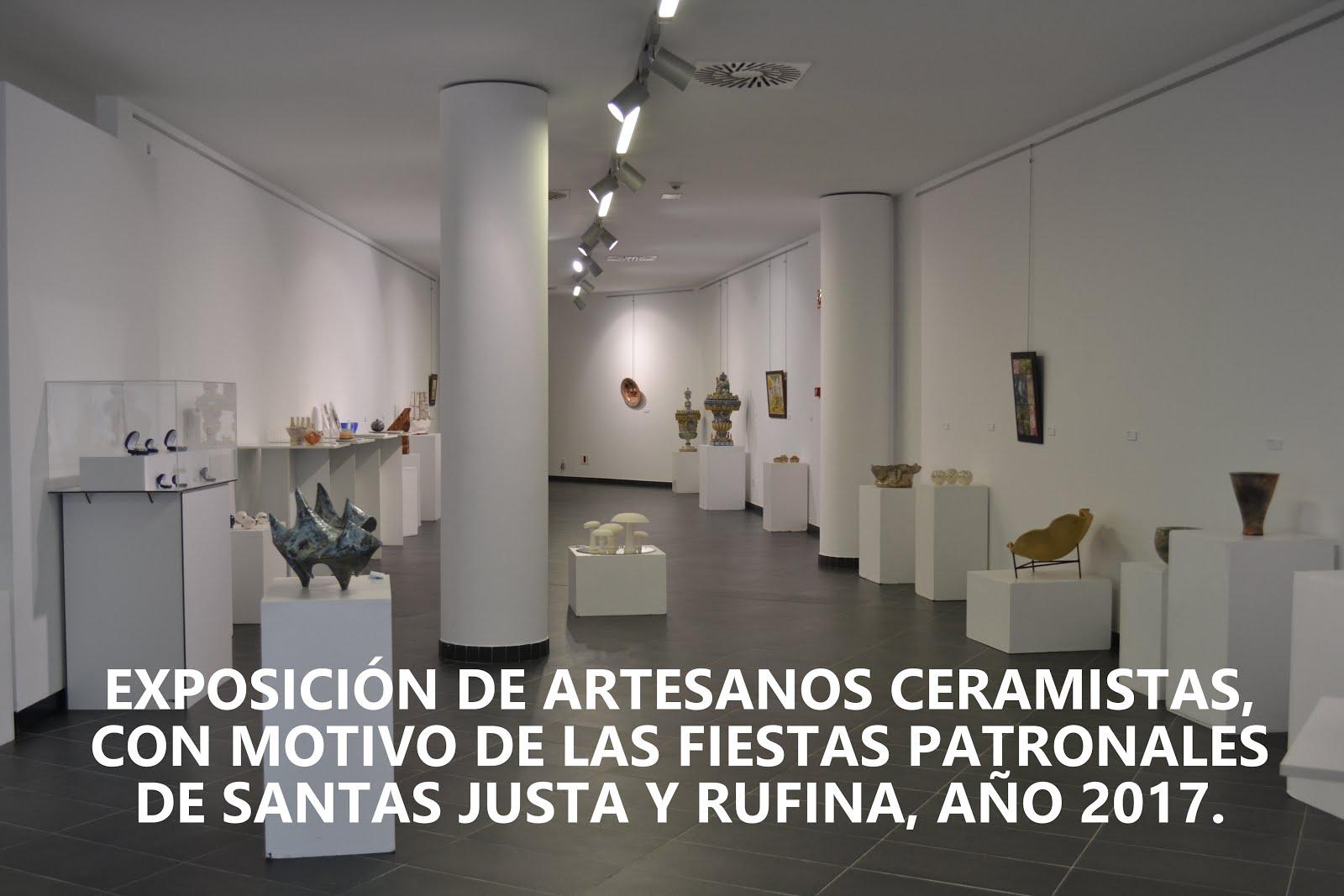 16.07.17 EXPOSICIÓN DE LOS ARTESANOS CERAMISTAS EN EL EDIFICIO CULTURAL EL ARTE