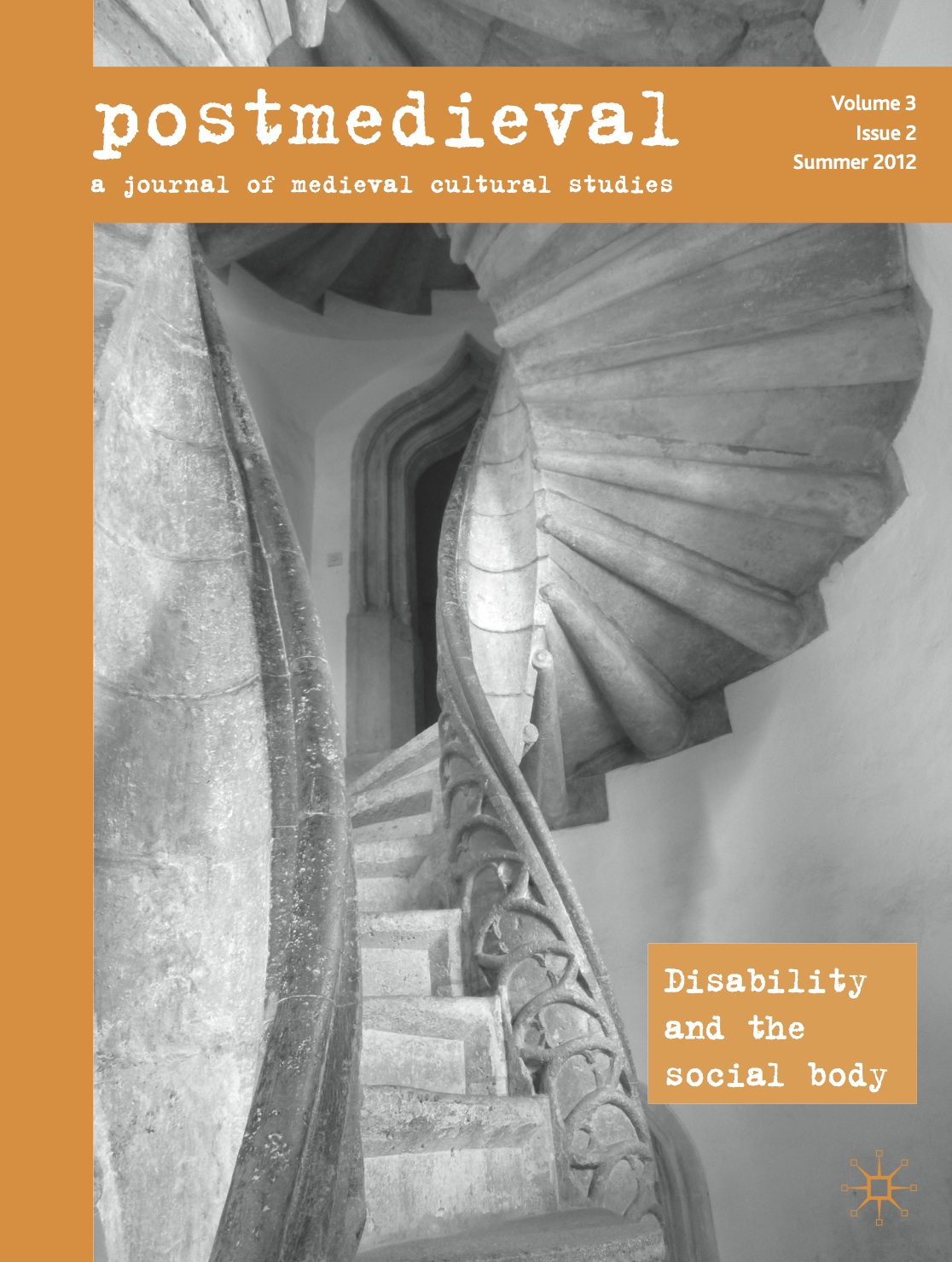 in the middle now published new issue of postmedieval essay now published new issue of postmedieval essay cluster on disability and the social body
