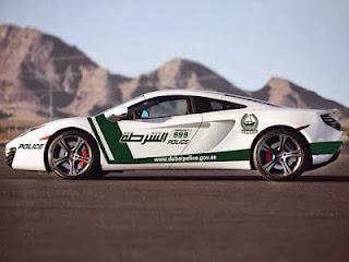Dubai Police Cars Add Super Sport