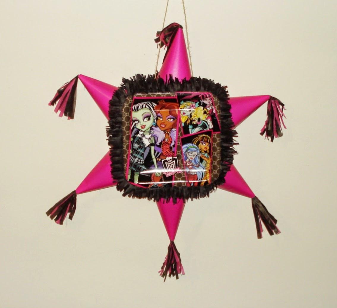 Monster High Ebay >> Piñatas: Monster High Pinatas
