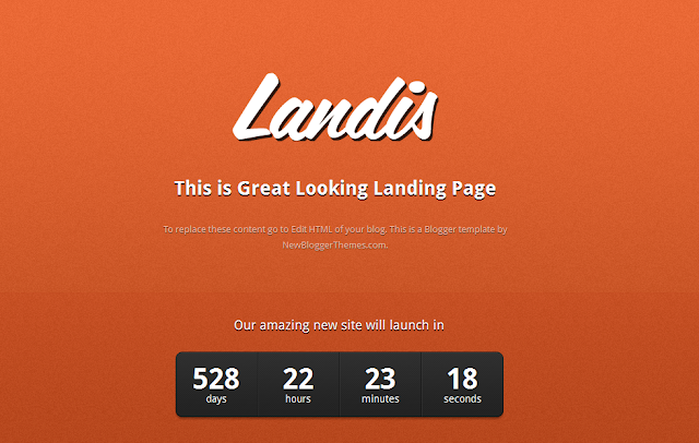 Landis : Under Construction Template