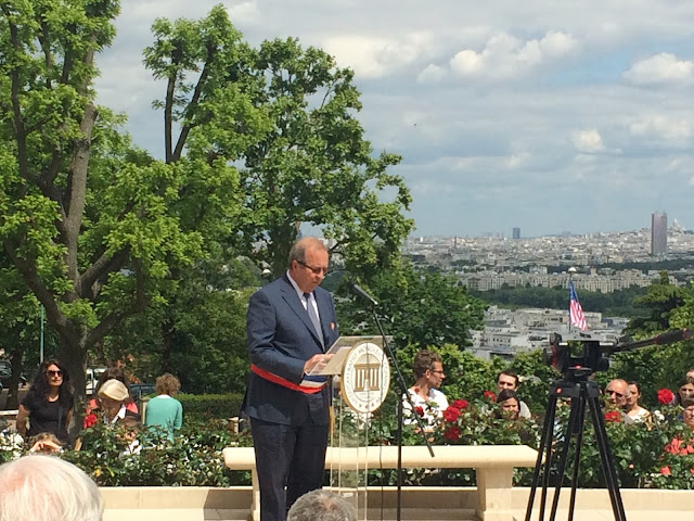 Memorial Day speech by Mayor of Suresnes, Christian Dupuy