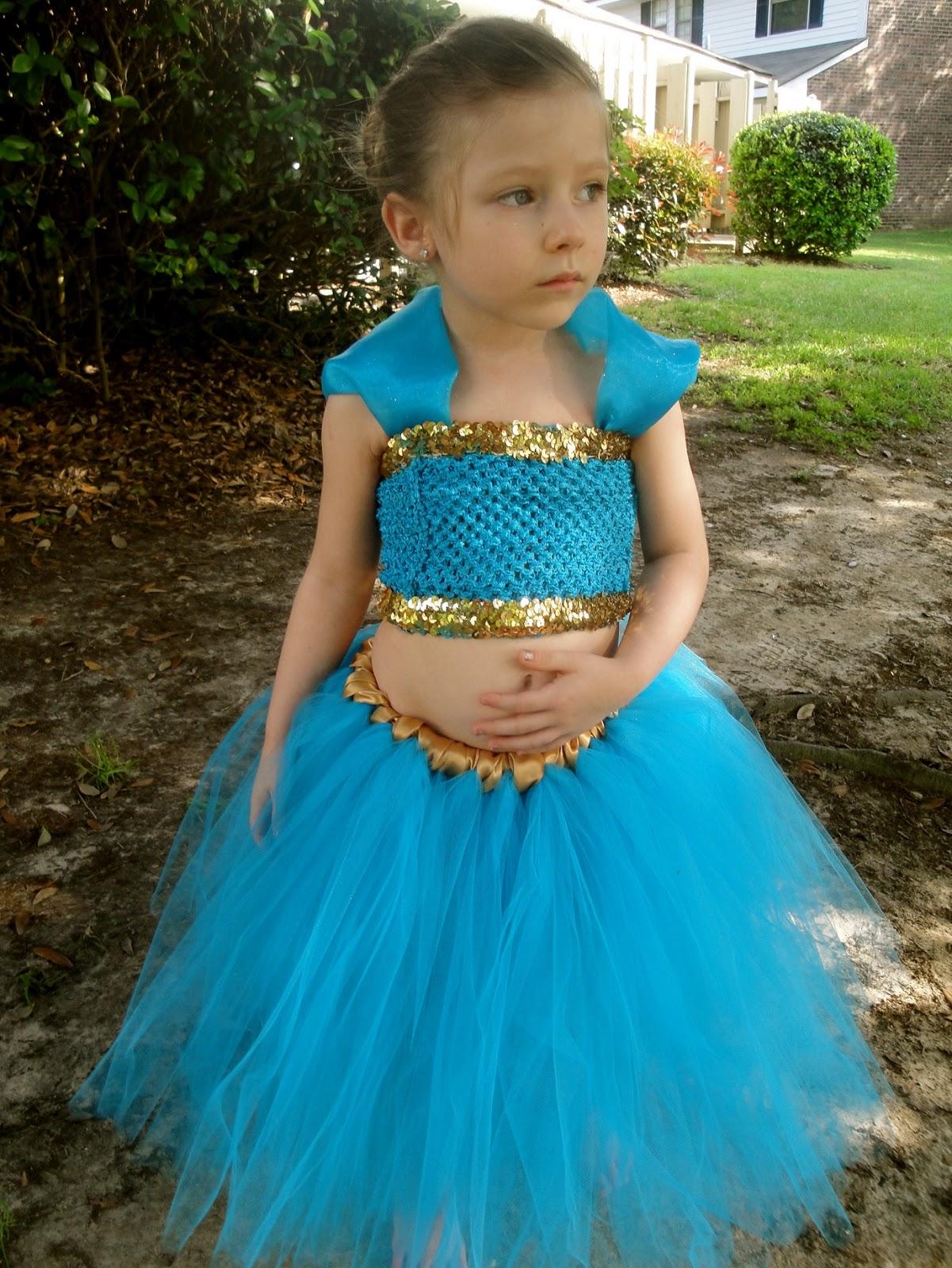 Hollywoodtutu dresses: Princess Jasmine tutu outfit costume