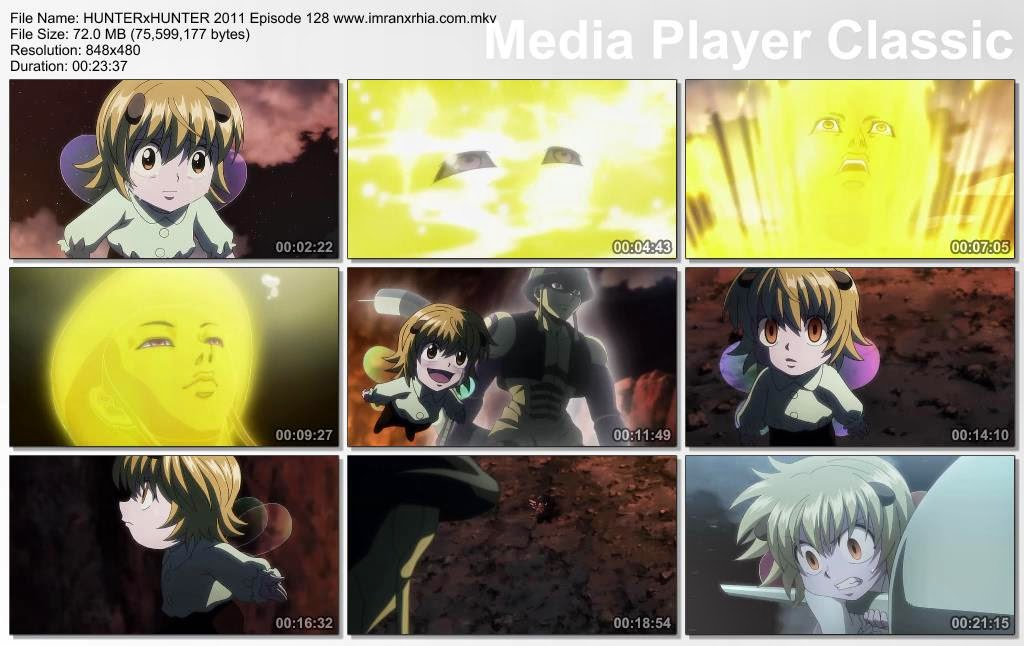 "Download Film / Anime Hunter x Hunter 2011 Episode 128 ""Kegembiraan Tak Tergantikan dan Cinta Sejati"" Bahasa Indonesia"