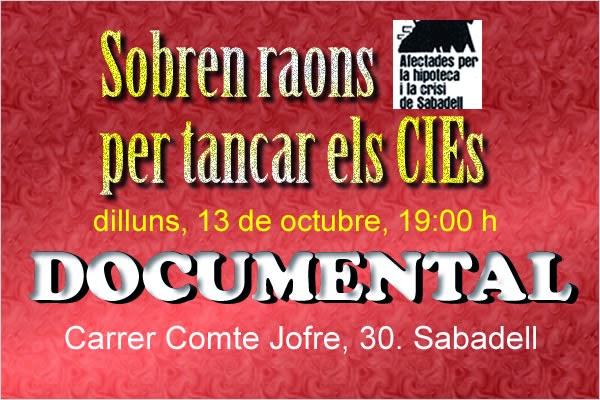 13 octubre Sobren raons a Sabadell