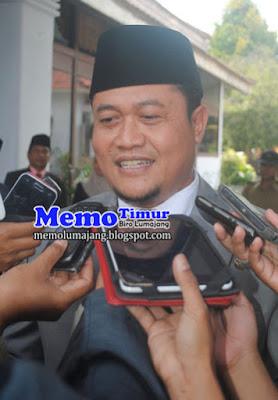 Ketua DPRD Agus Wicaksono