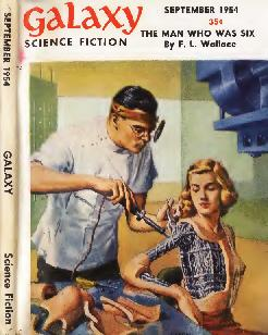 Cover of Galaxy Science Fiction magazine, September 1954 issue