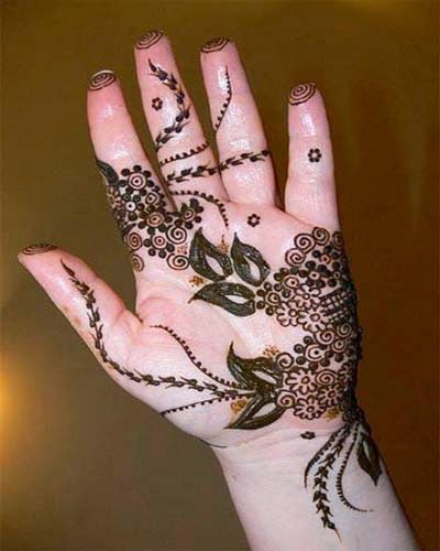 Mehndi Party Things To Do : Stylish mehndi henna designs collection for new parties