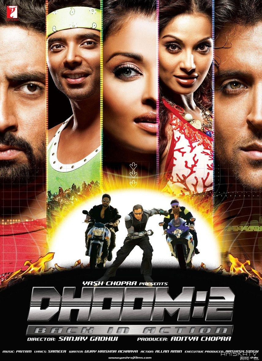 Dhoom 2 (2006) เหิรฟ้าท้านรก