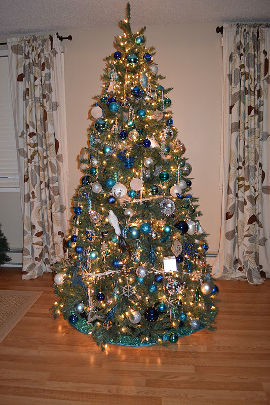 oh christmas tree oh christmas tree - Blue And Silver Christmas Tree