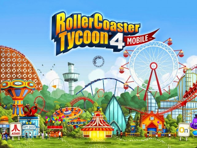 RollerCoaster Tycoon® 4 Mobile V1.3.0 Mod Apk + Data (Unlimited Money)