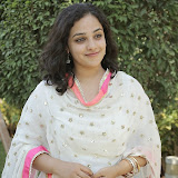 Nitya meenon Latest Photo Gallery in Salwar Kameez at New Movie Opening 38