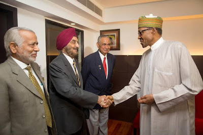 Buhari meets up with old Indian coursemates of 1973 pic 5