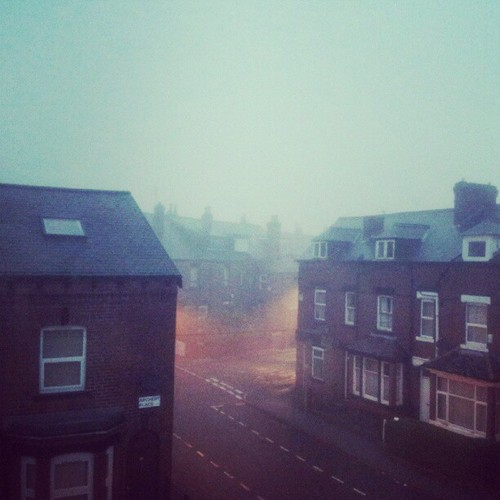 Foggy morning in Leeds