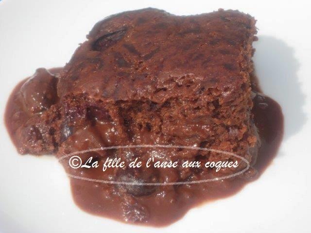 Recette gateau pouding au chocolat