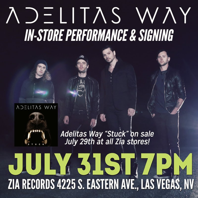 Lyric adelitas way good enough lyrics : Zia Records Blog-o-rama: July 2014