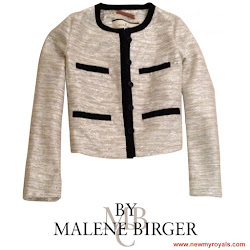 Crown Princess Victoria Style - BY MALENE BIRGER Synthetic Jacket
