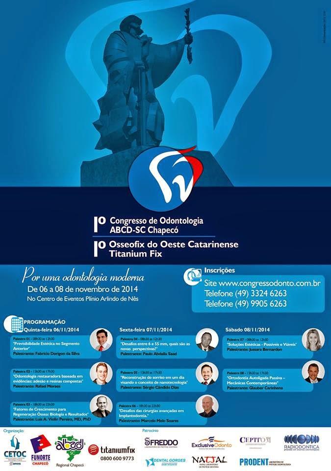 1º Congresso de Odontologia ABCD SC