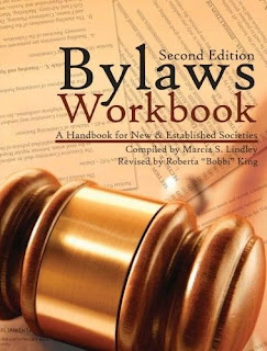 Bylaws Workbook: A Handbook for New & Established Societies