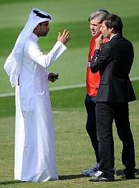 Ancelotti tuvo su primer entrenamiento con el PSG
