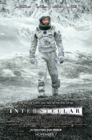 Interstellar: Official Theatrical Release Poster