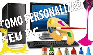 personalizando windows com pastas coloridas, programas legais, papeis de parede, cursores e descansos de tela