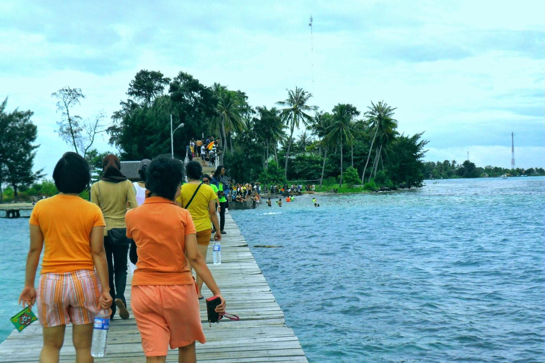 liburan ke pulau tidung