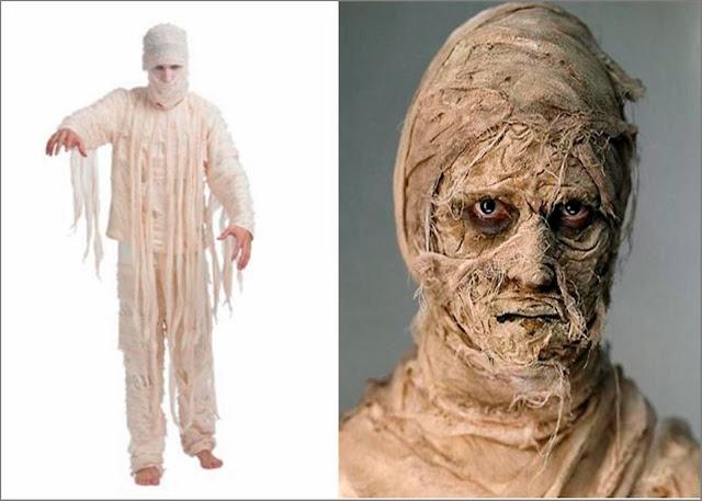 Disfraz de momia DIY