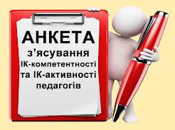ОБОВ'ЯЗКОВА АНКЕТА