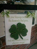 March porch sign