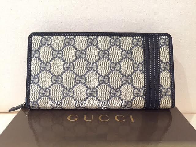 8274a5bf53f I Want Bags backup  Gucci Gg Supreme Canvas Zip Around Wallet