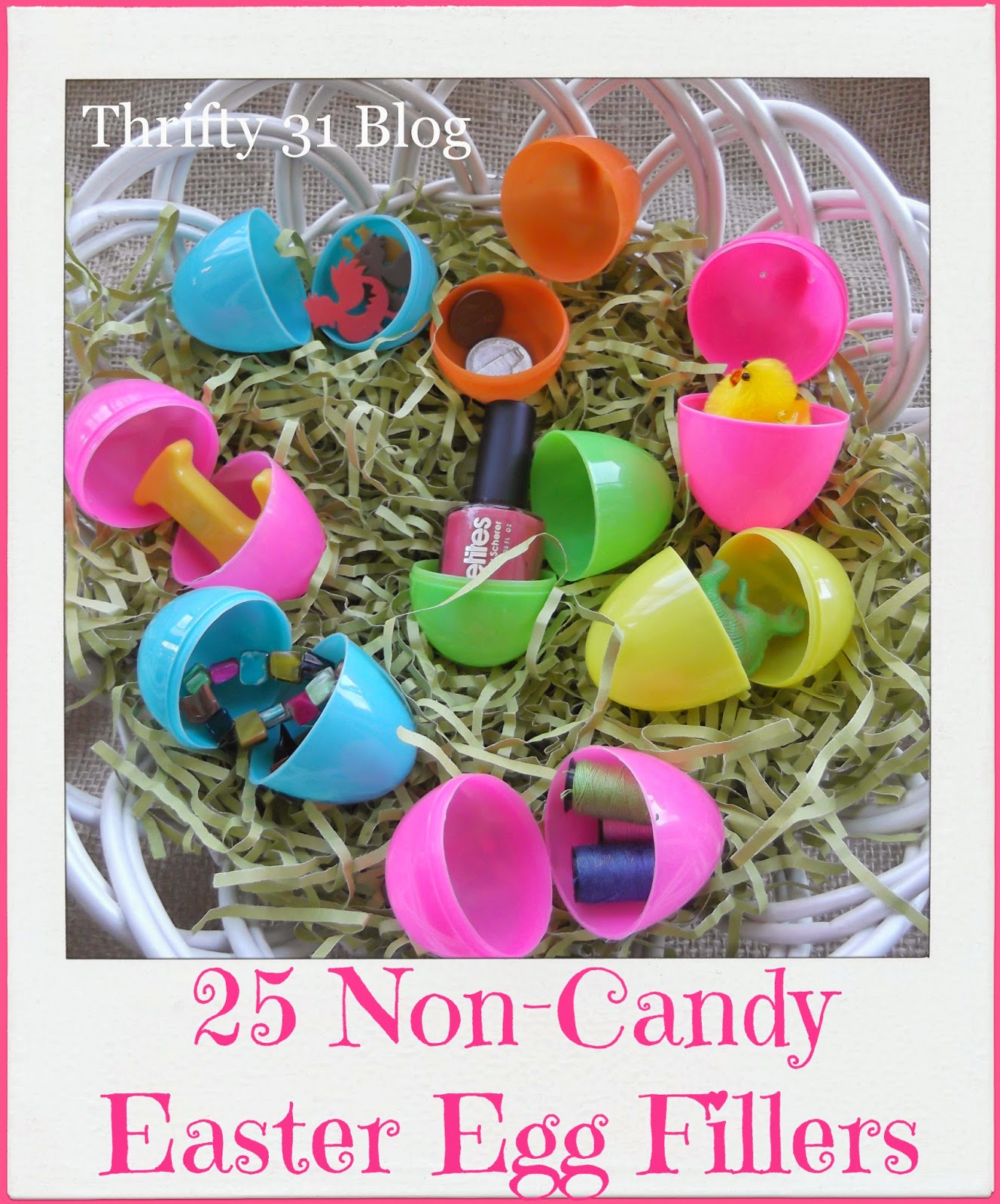 thrifty 31 blog: 25 non-candy easter egg fillers