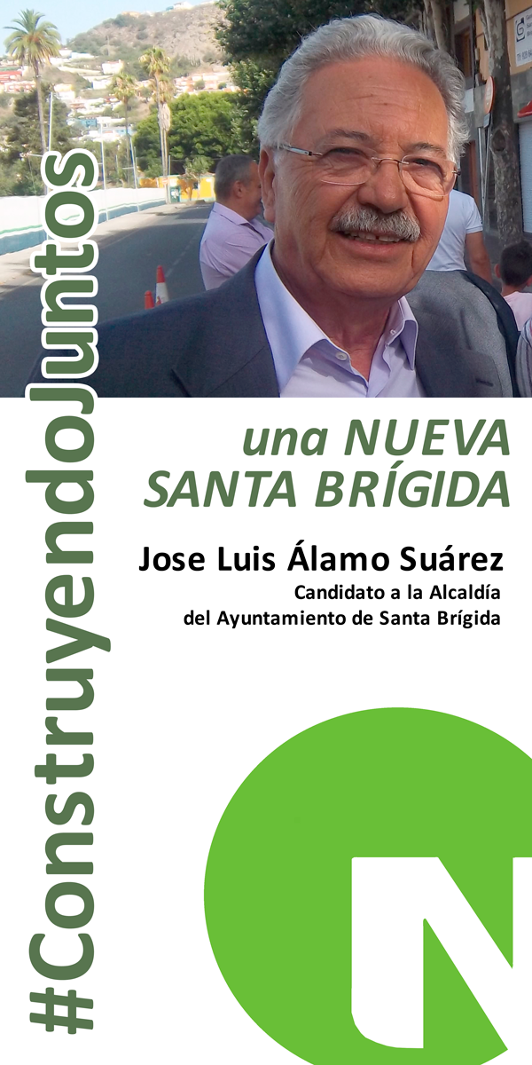 José Luis Álamo candidato de Nueva Canarias-Frente Amplio a la Alcaldía