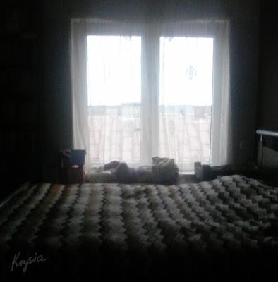 Krysia to uszyła - Hania w sypialni