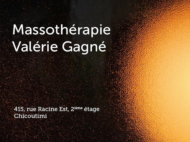 Massothérapie Valérie Gagné