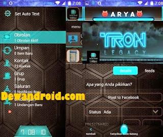 BBM Mod Tron Legacy Clone