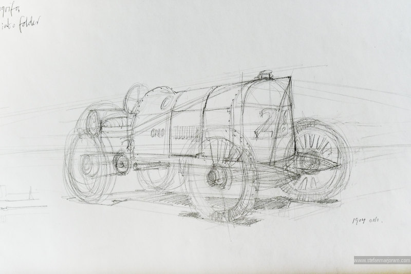 Line Drawing Car : Stefan's sketch blog: march 2011