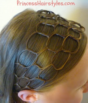 honey comb hairstyle