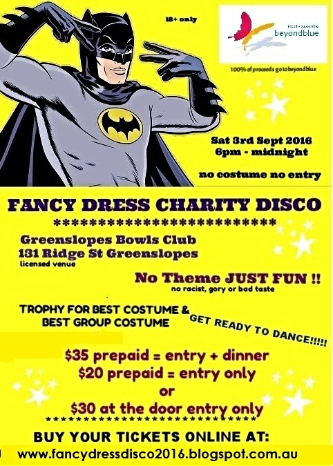 FANCY DRESS CHARITY DISCO 2016