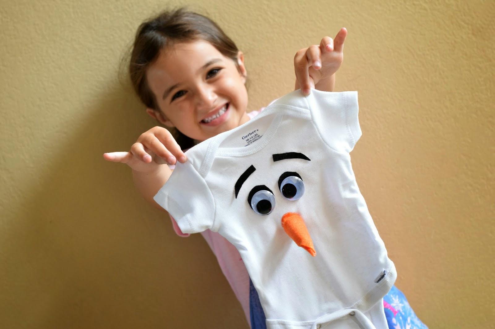 Diy Frozen Olaf Onesie Hello Splendid