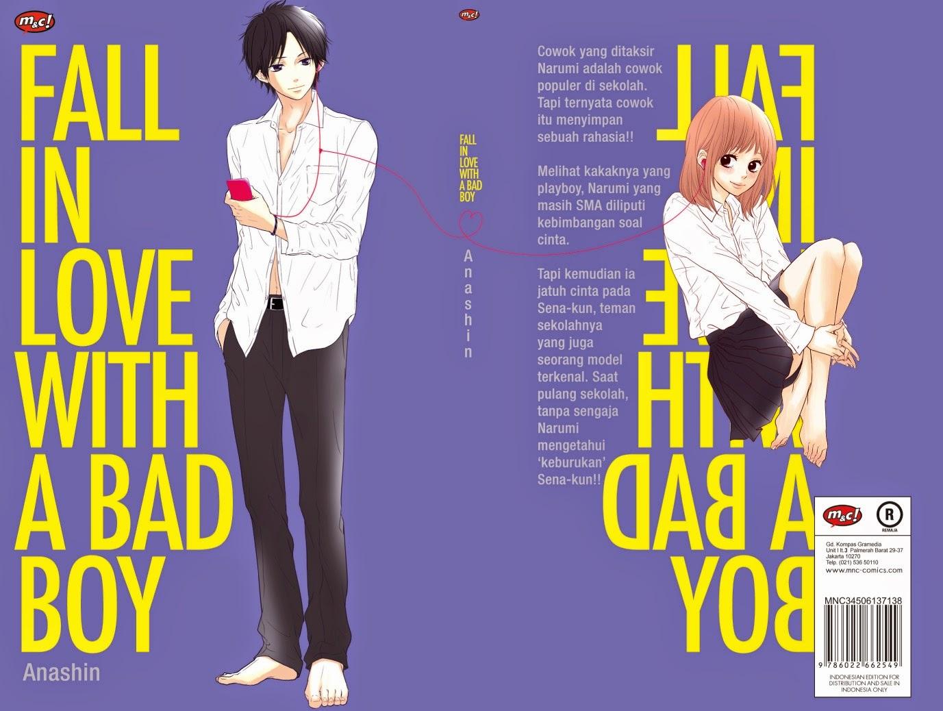 Anime Daisuki: Sinopsis Fall In Love With a Bad Boy (Manga)