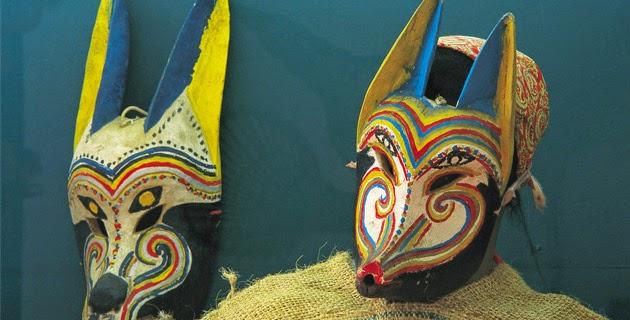 Tallado en maderas, máscaras artesanales