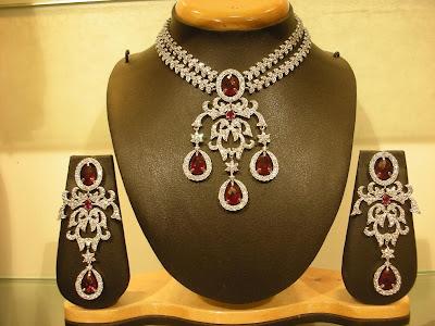 Diamond Necklace Set models